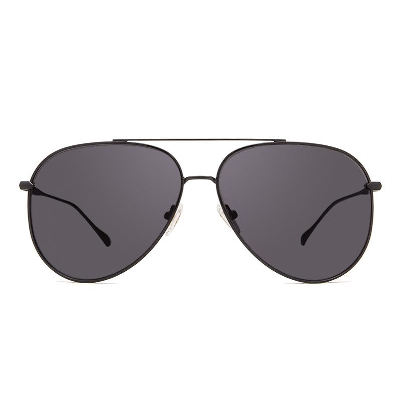 DIFF Nala Becca Kufrin Black with Dark Smoke Lenses