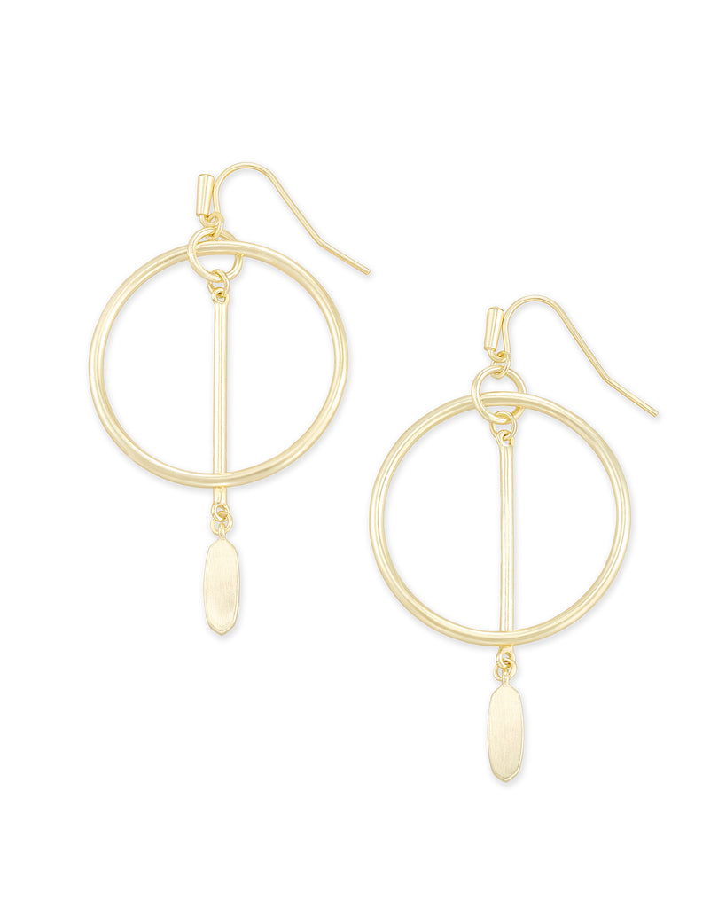 Kendra Scott Nalani Open Frame Earring - Available in 3 Colors