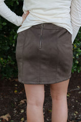 The Olive Skirt