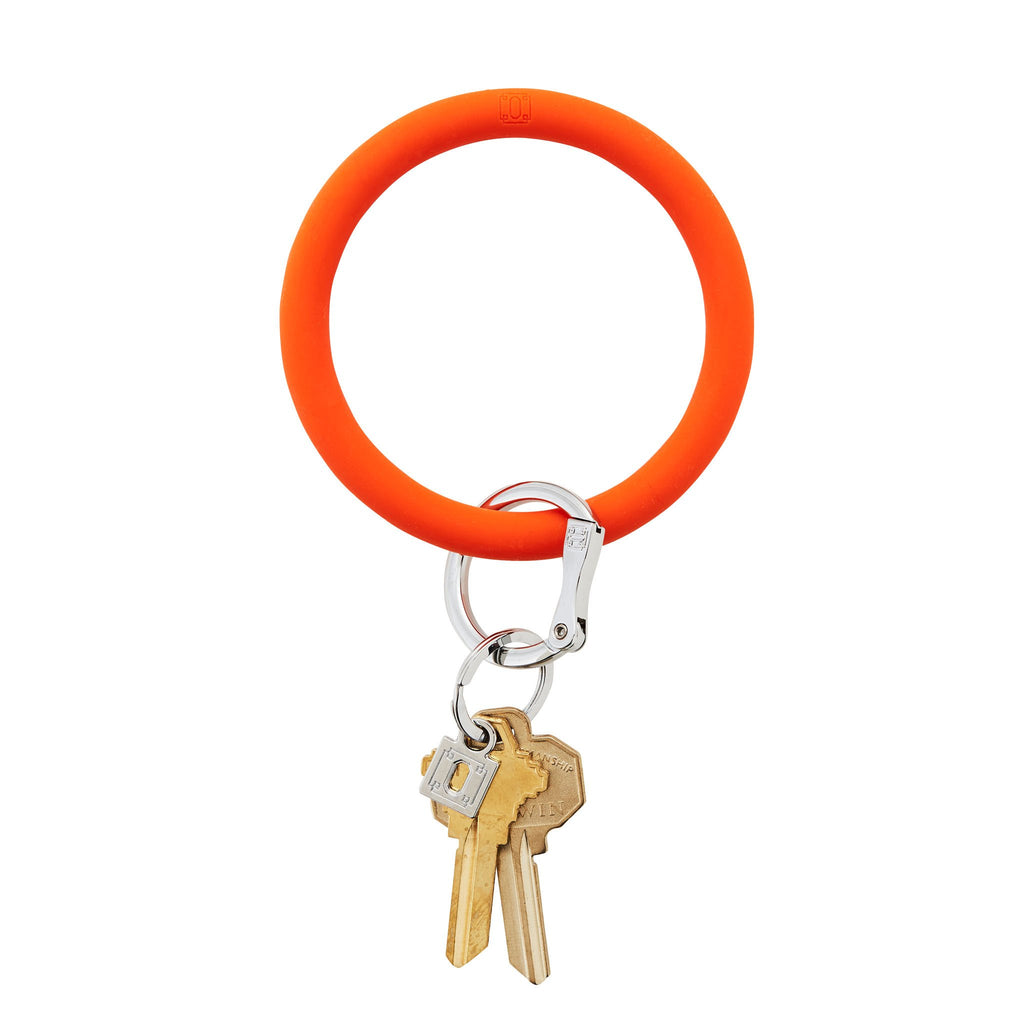silicOne O Ring Orange Crush