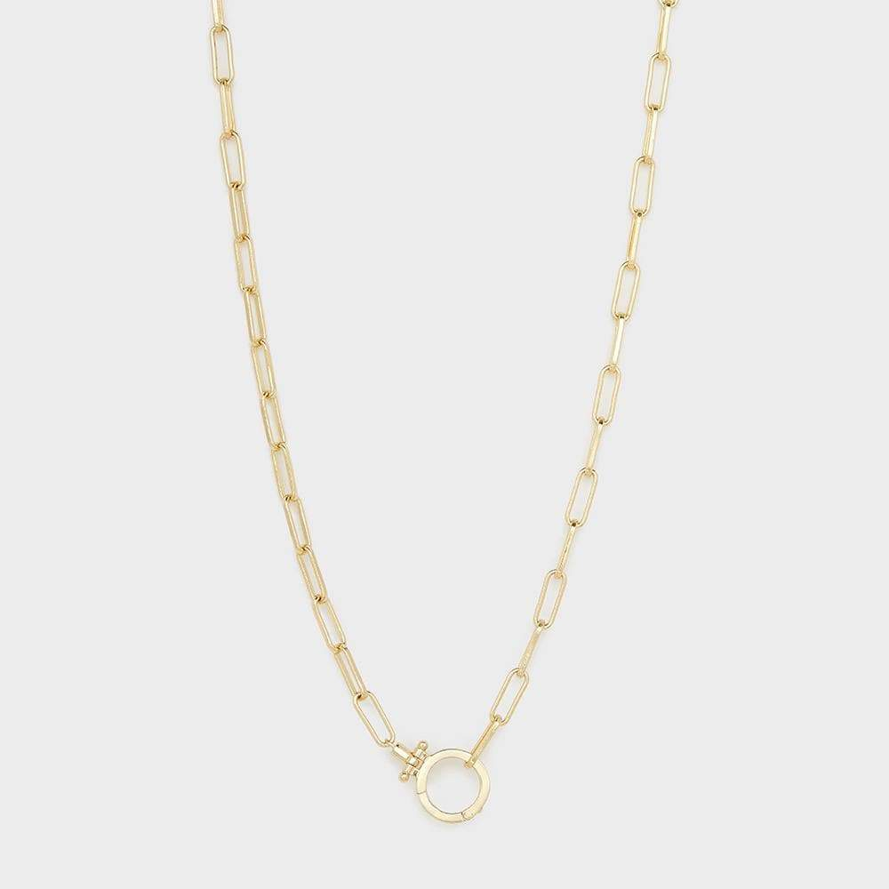 Gorjana Parker Necklace in Gold