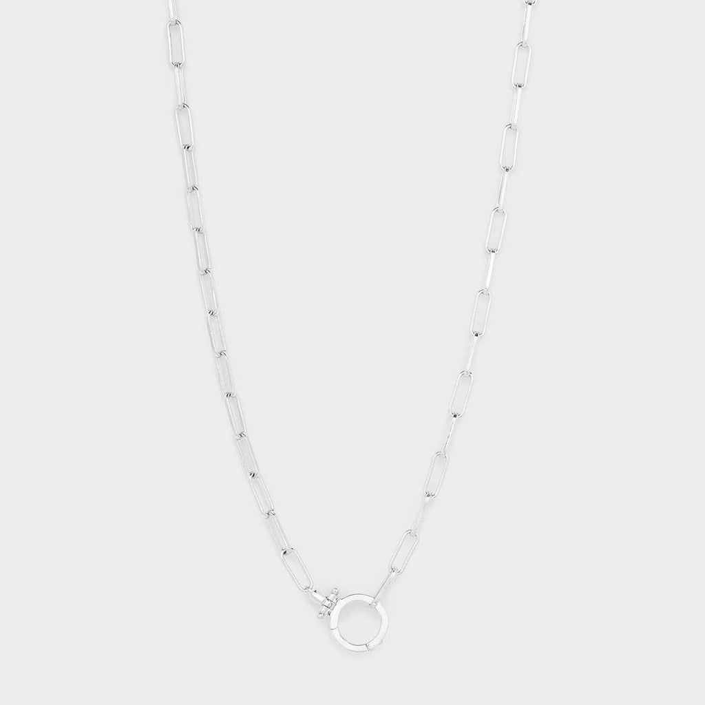 Gorjana Parker Necklace- Silver