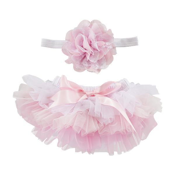 Pink Ombre Tutu and Headband Set