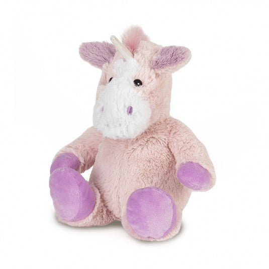 Warmies Cozy Plush White Unicorn