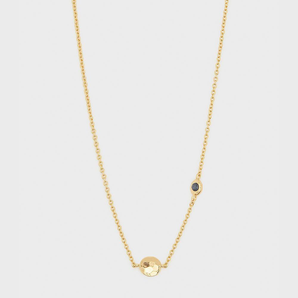 Gorjana Power Birthstone Necklace - September