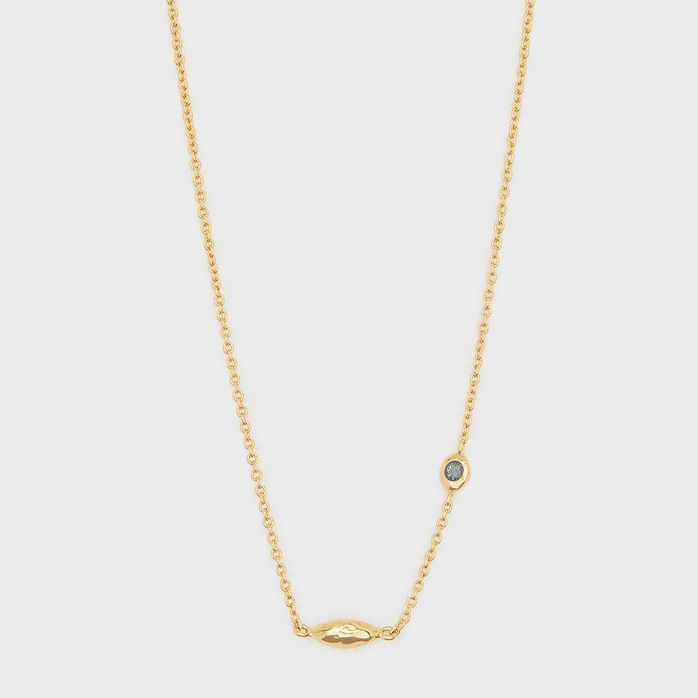 Gorjana Power Birthstone Necklace - December