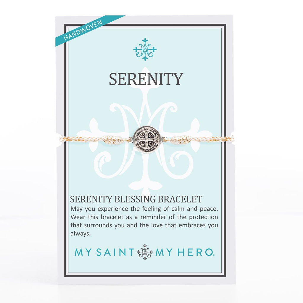 My Saint My Hero Serenity Blessing Bracelet