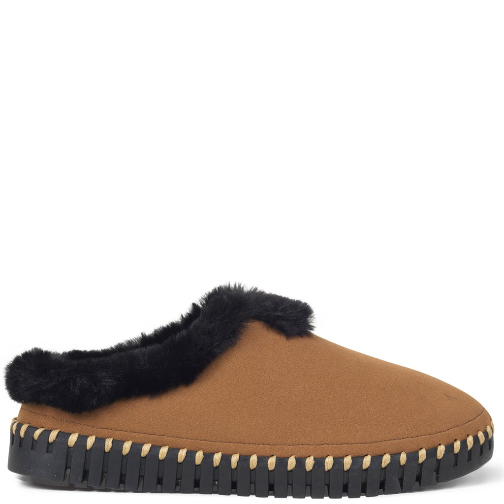 Ilse Jacobsen Slipper in Tannin