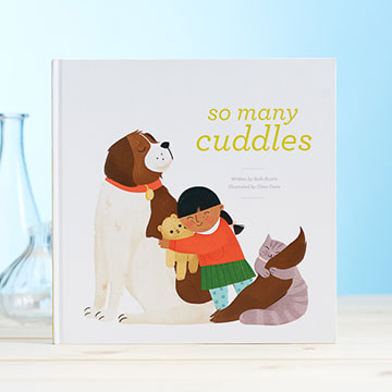 """So Many Cuddles"" Children's Book"