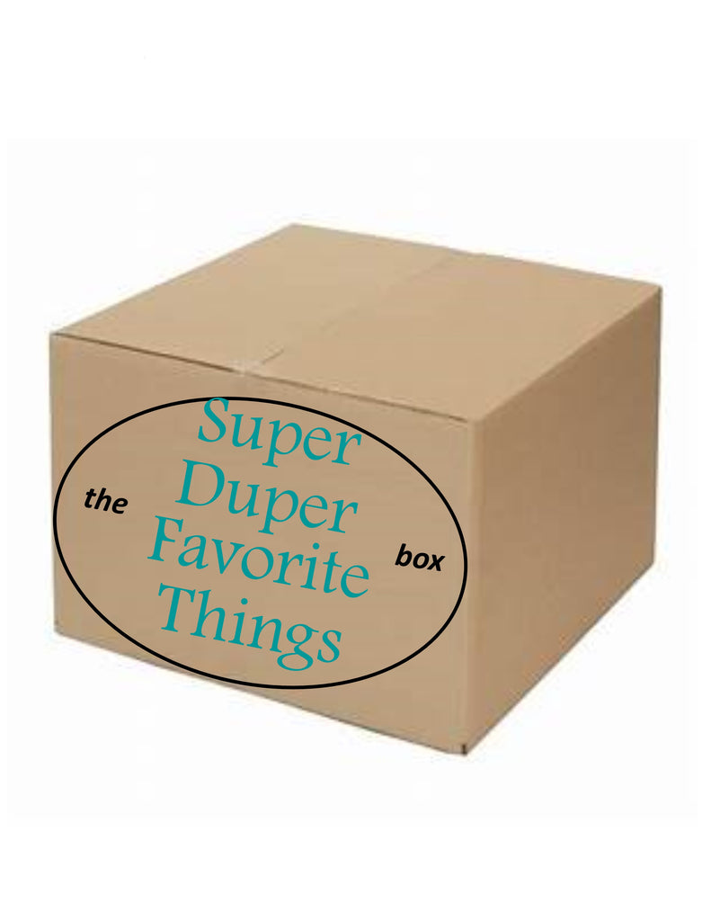 The Super Duper Favorite Things Box