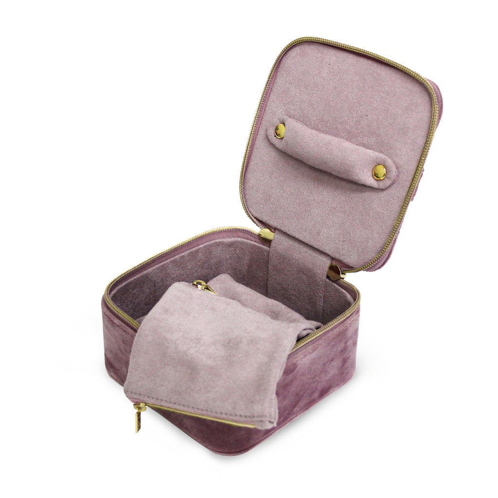 Luxe Velvet Jewelry Cube - Available in 4 Colors