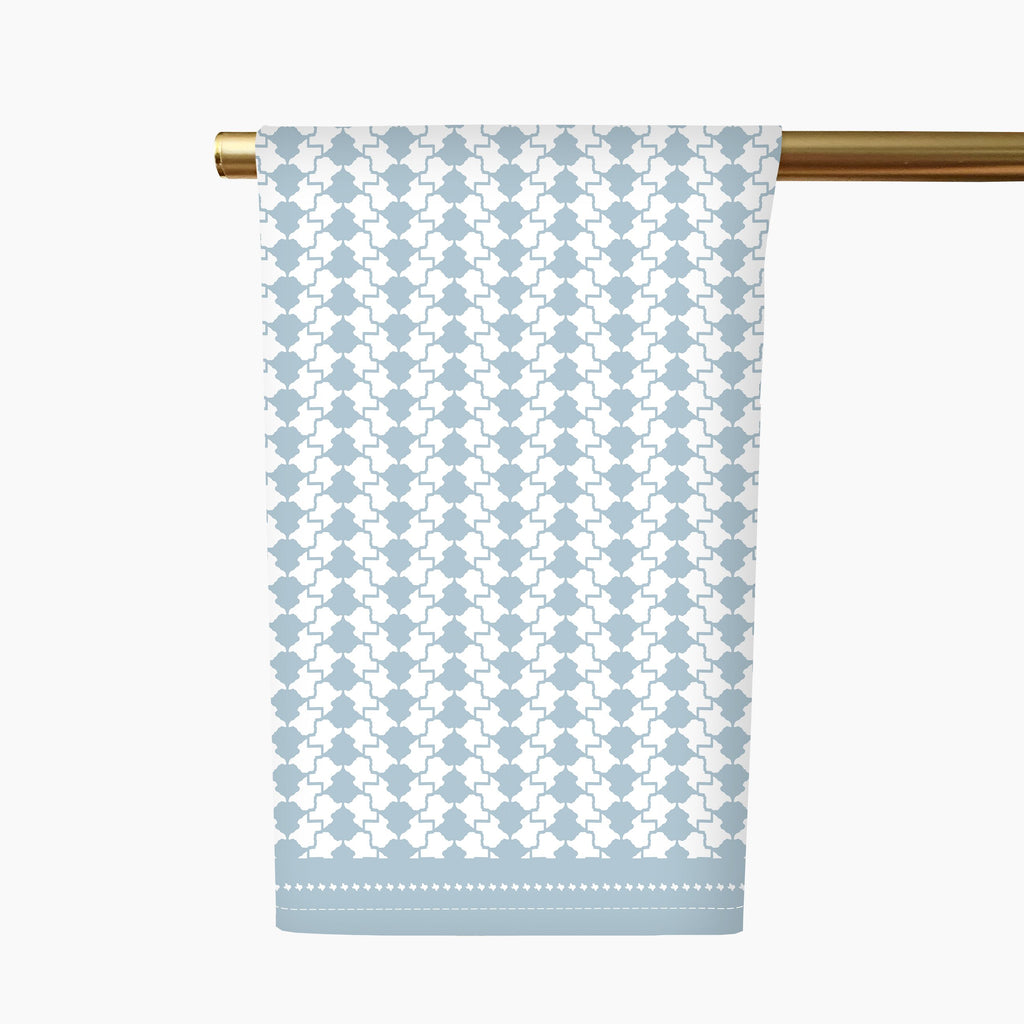 Texas Herringbone Tea Towel