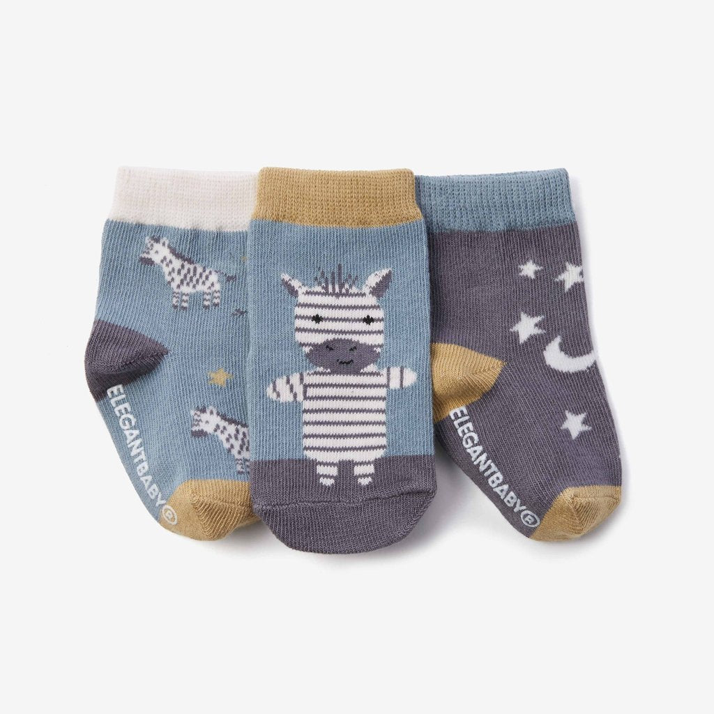 Zebra Cotton Baby Socks