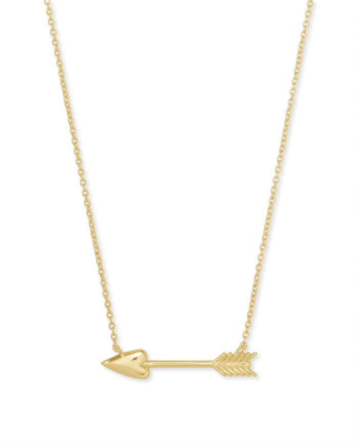 Kendra Scott Zoey Short Pendant in Gold