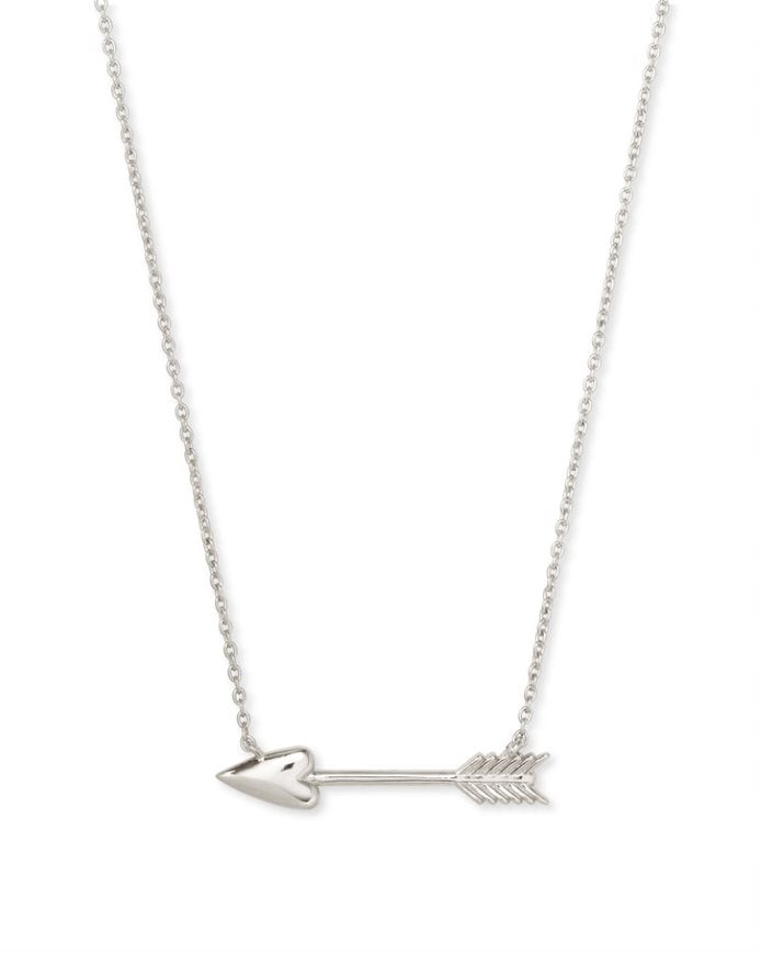 Kendra Scott Zoey Short Pendant in Silver