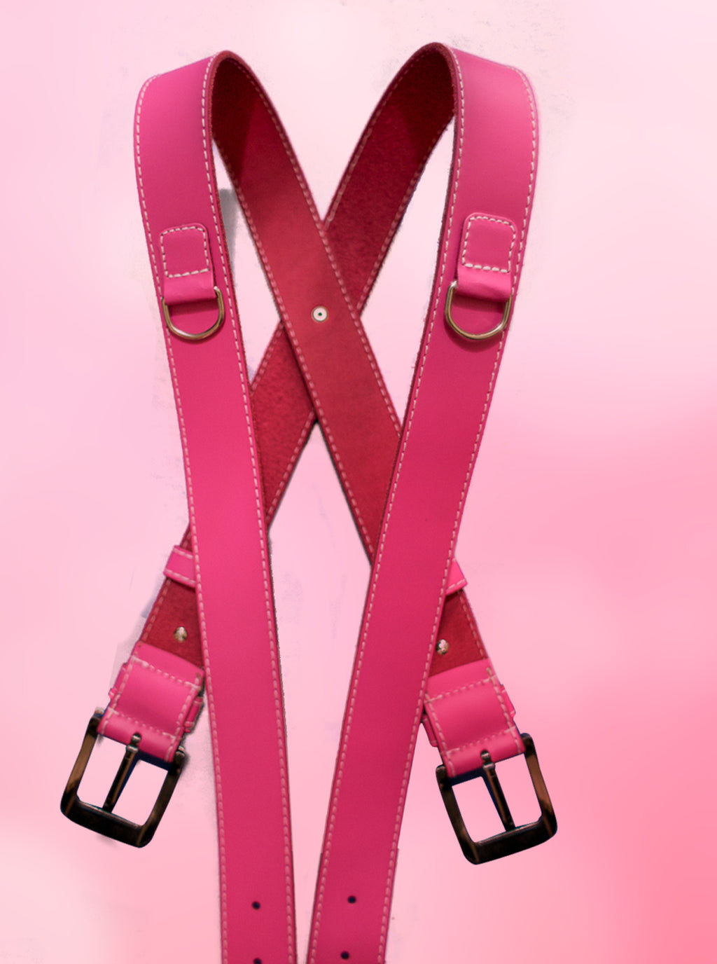 Red Strap Pink