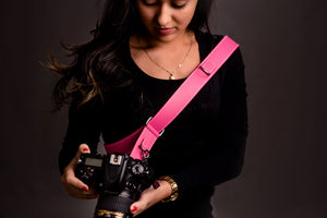 Red Strap Single Pink
