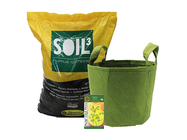 Let's Grow Together kit fundraising with Soil3 compost