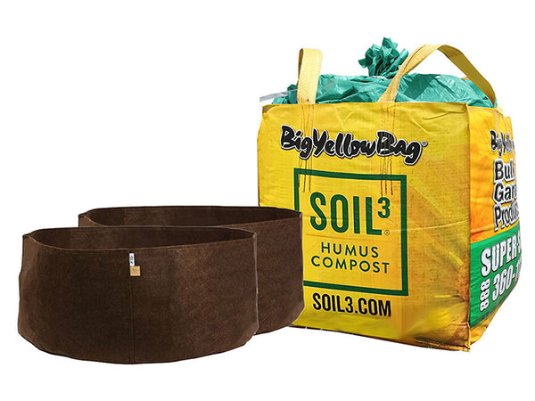 Soil3 BigYellowBag raised garden bed