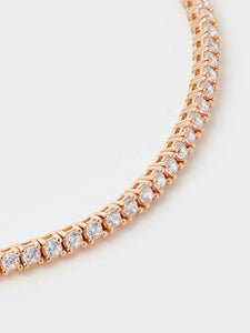 HL Rose Gold Tennis Bracelet