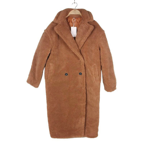 Tan Teddy Coat by Bella and Blue