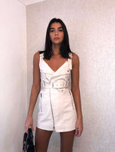 The Gigi Mini Dress in Cream