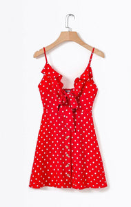 The Romee Polka Dot Dress