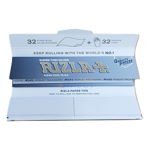 4 Booklets 5 Packs Classic King Size Papers with Rolling Tips 3 X