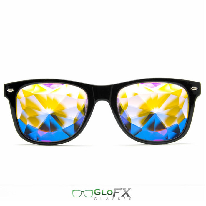 Ultimate Kaleidoscope Glasses with Black Frame