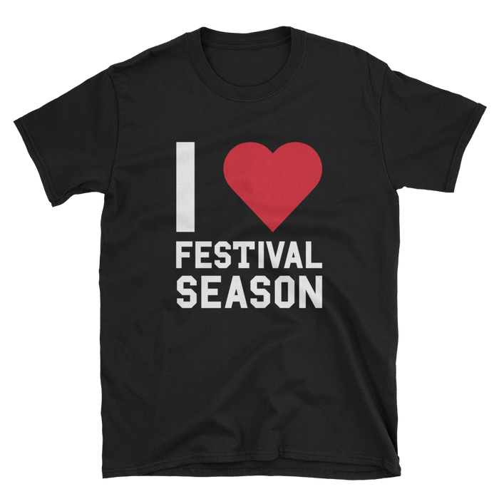 I Heart Festival Season T-Shirt