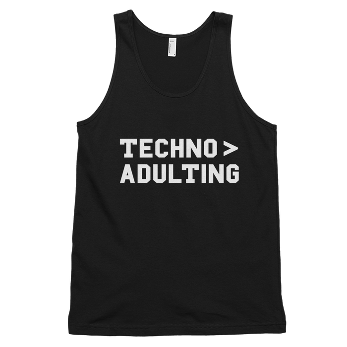 Techno > Adulting Tank Top