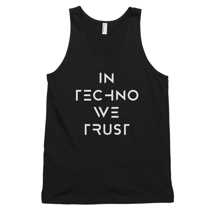 In Techno We Trust Tank Top