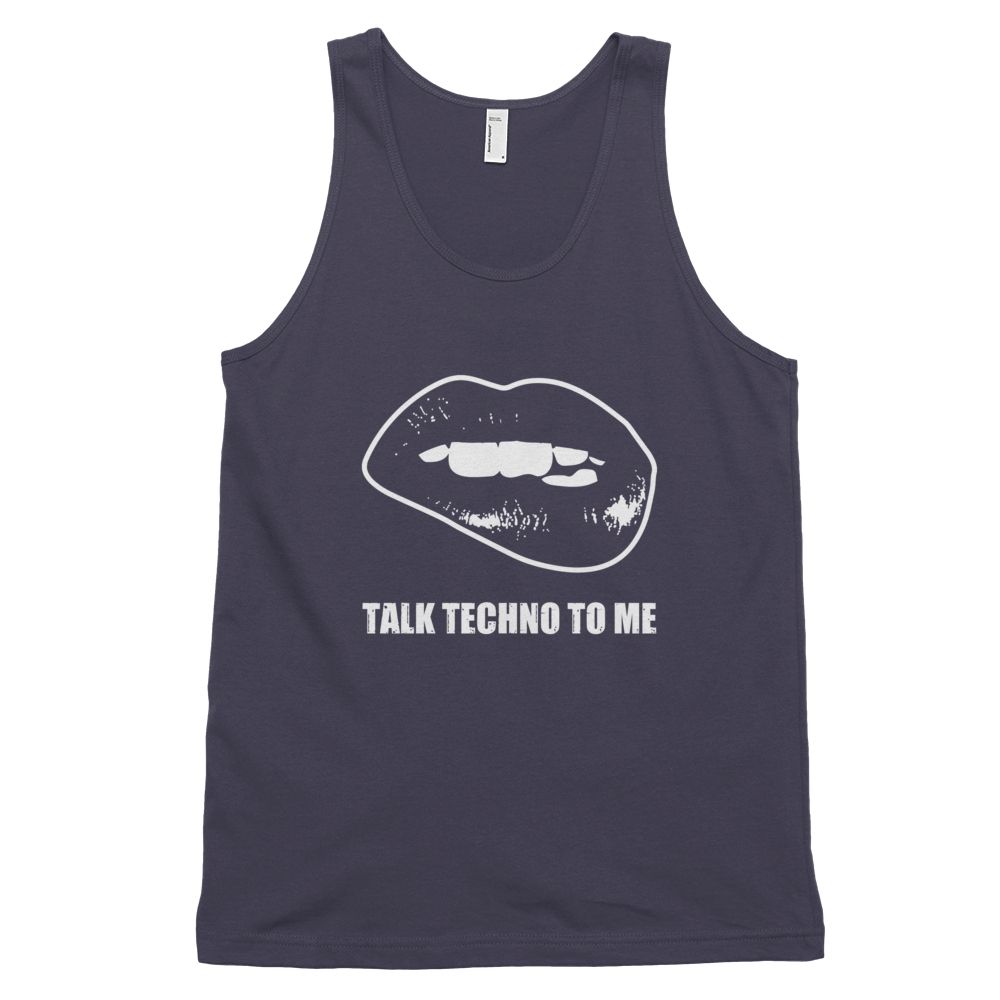 Talk Techno To Me Tank Top