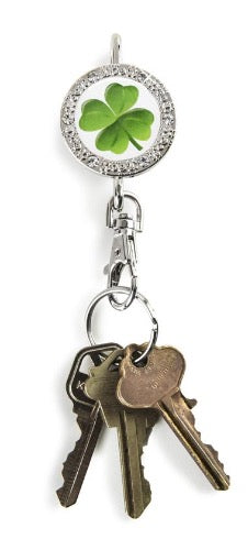 4 Leaf Clover BLING Finders Key Purse®