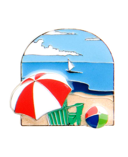Beach Scene Finders Key Purse®