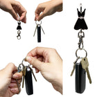Black Dress Finders Key Purse®