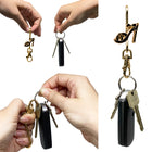 Gold & Black Shoe Finders Key Purse®