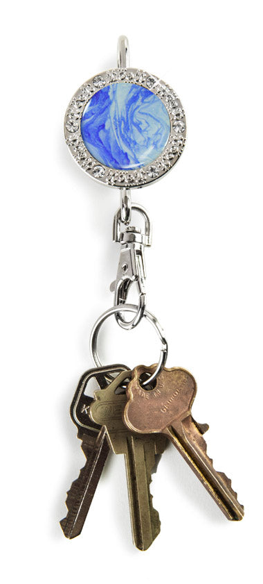 Blue Marble BLING Finders Key Purse®
