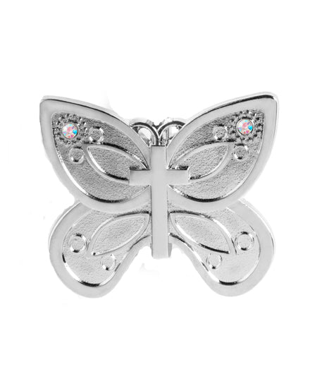 butterfly cross keychain, cross keychain, butterfly keychain, butterfly accessories, cross accessories