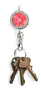 Confetti Hearts BLING Finders Key Purse®