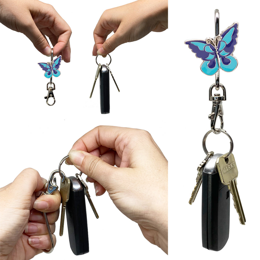 Cool Butterfly Finders Key Purse®