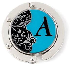 "Monogram Hang'em High® Foldable Purse Hanger ""A"""