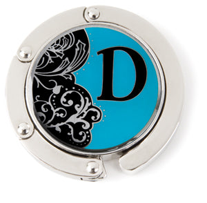 "Monogram Hang'em High® Foldable Purse Hanger ""D"""