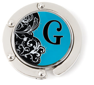 "Monogram Hang'em High® Foldable Purse Hanger ""G"""