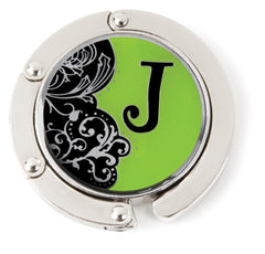 "Monogram Hang'em High® Foldable Purse Hanger ""J"""