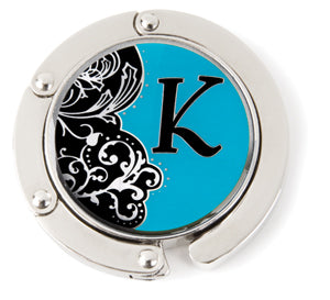 "Monogram Hang'em High® Foldable Purse Hanger ""K"""