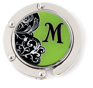 "Monogram Hang'em High® Foldable Purse Hanger ""M"""