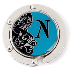 "Monogram Hang'em High® Foldable Purse Hanger ""N"""