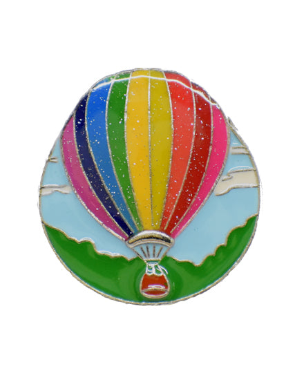 Hot Air Balloon Finders Key Purse®