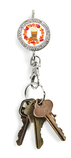 Latte Lover Bling Finders Key Purse®